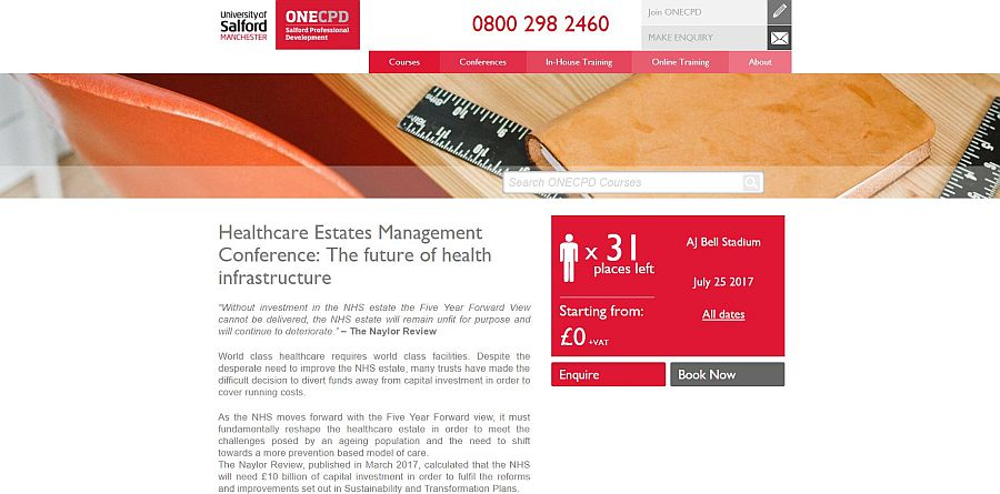 Healthcare Estates Salford